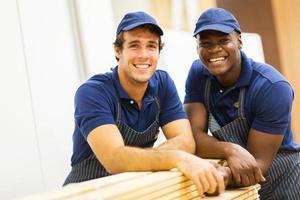 Baumarktmitarbeiter