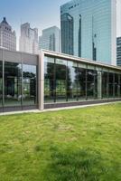 Shanghai Bürogebäude foto