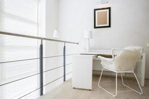 Arbeitsbereich in der Wohnung foto