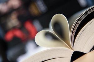 Liebe zu Büchern foto
