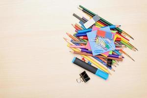 Schul- und Büromaterial foto