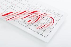 Weihnachtsstimmung auf dem Bürotisch