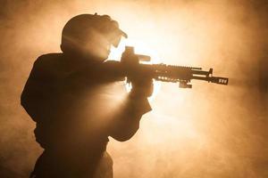 russischer Spezialeinheitsbetreiber foto