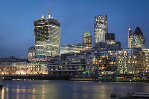 London River Thames North Bank Blick foto