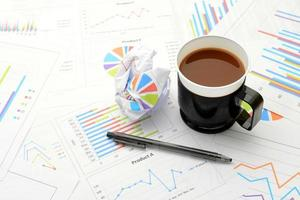 Geschäftsbilder, Kaffeepause foto
