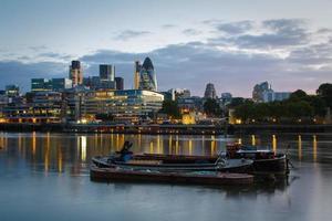 Boote und Liverpool Street Bereich, London. foto