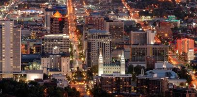 Salt Lake City Innenstadt foto