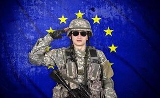 Soldat foto