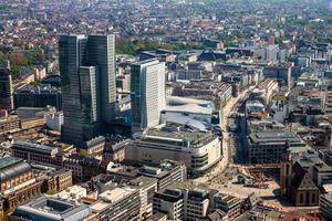 Luftaufnahme von Frankfurt