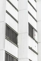 weißer Wolkenkratzer