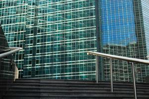 Außentreppen und Geländer foto