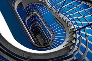 blaue Treppe foto