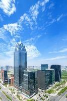 Skyline und moderne Gebäude foto
