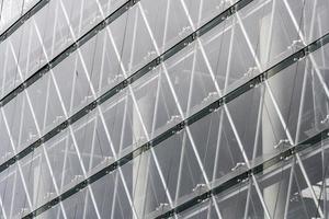 Glas moderne Fassade foto