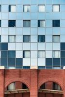 Aufnahme eines modernen Gebäudes foto