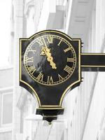 Straßen von London, Uhr foto