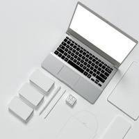 Vorlagengeschäft für Branding foto