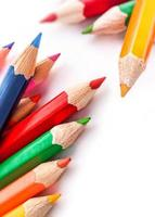 bunter Bleistift foto