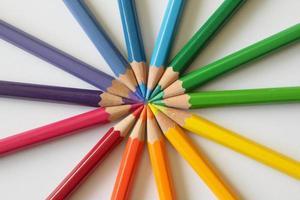 pinturas de colores foto