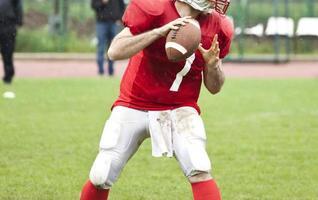 American-Football-Spiel foto