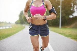 Ich wünschte, ich wäre ein professioneller Läufer foto