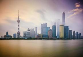 Shanghai Morgendämmerung foto