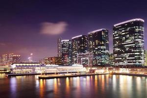 Kowloon in der Nacht foto