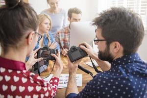 Fotoausrüstung ist bei unserer Arbeit sehr wichtig