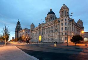 Uferpromenade in Liverpool foto