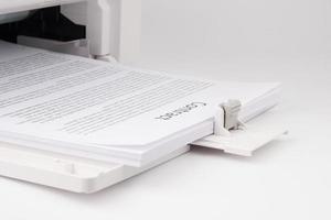 moderner Laserjet-Drucker foto