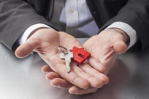 bietet Ihnen neuen Home-Schlüssel foto