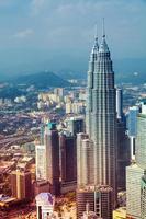 Skyline von Kuala Lumpur - Malaysia foto