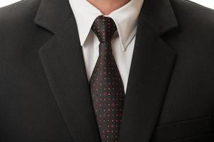 Anzug und Krawatte foto