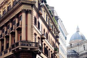 Seitenansicht des Gebäudes foto