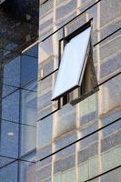Detail des modernen Gebäudes foto