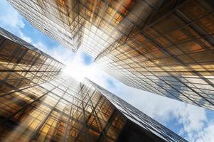 Gebäude abstrakt foto
