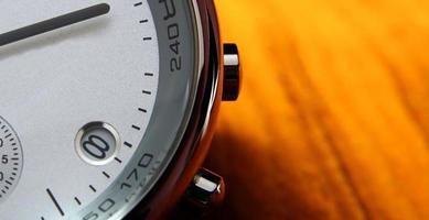 moderne Uhr - Makro foto