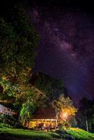 Milchstraße tiefer Himmel