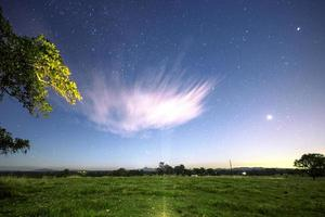 Sterne in der Nacht foto