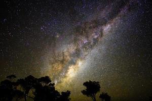 Milchstraße steigt foto