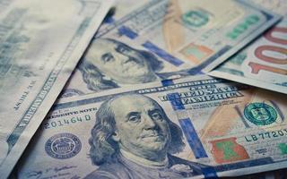 neuer Dollar Hintergrund foto