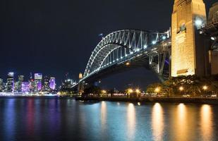 Sydney Hafenbrücke foto