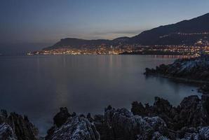 Monaco Dämmerung foto