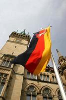 Deutsche Flagge foto