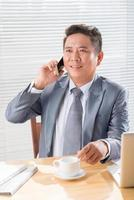 Geschäftsgespräch foto