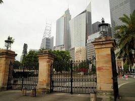 Wolkenkratzer in Sydney City foto