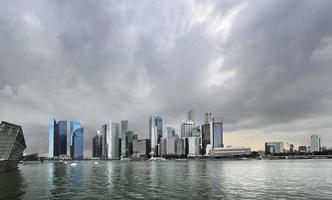 regnerisch Singapur