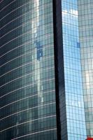 Asien Thailand Reflex des Wolkenkratzers in der Mitte foto