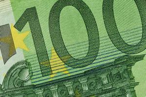 100 Euro Banknote foto