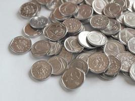 tschechische Münzen foto